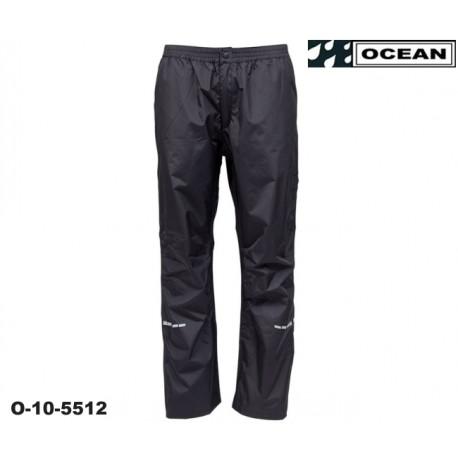 High Performance Regenhose Regular schwarz Ocean Outdoor nah 1