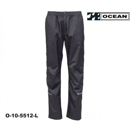 High Performance Regenhose Long schwarz Ocean Outdoor