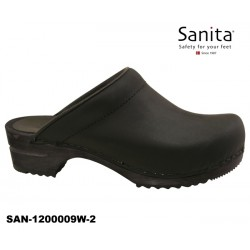 Sanita Chrissy Clogs Damen schwarz