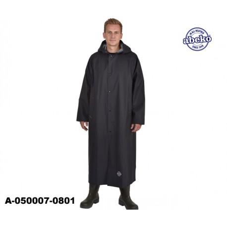 Schwarzer PVC Regenmantel leicht Ocean Sitex Ohava 135 cm