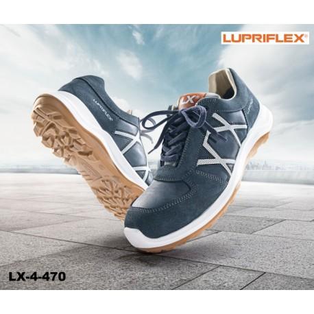 S3 Sicherheitshalbschuh wasserdicht und bequem LUPRIFLEX® LX 4-470 Blaumann