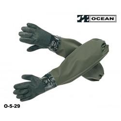 Ärmel-Handschuhe - Ärmelschoner mit angeschweißten Handschuhen