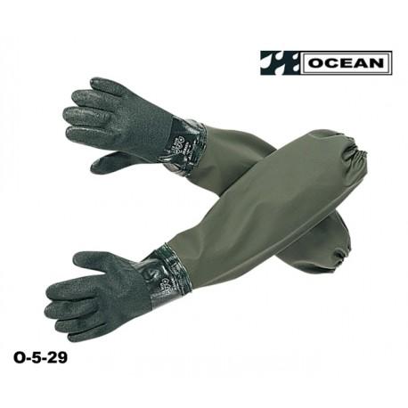 Ärmelhandschuhe - Ärmelschoner mit angeschweißten Handschuhen