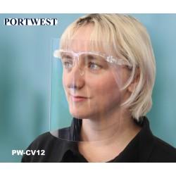 Face-Shield Glasses 250 Micron APET Gesichtsschutzbrille - 25 Stück Karton