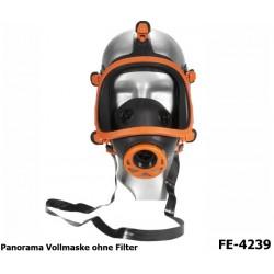 Atemschutz, Vollmaske, EN 136 Klasse 2, Panorama Maske, Rundgewinde EN 148-1