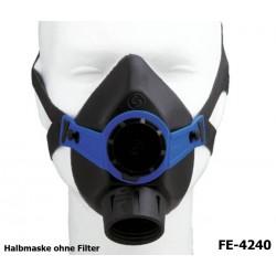 Atemschutz Halbmaske Maske ohne Filter mit 1 Ausatemventil Norm EN140