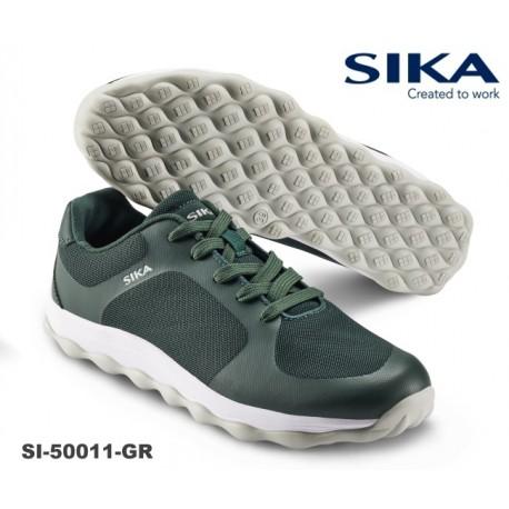Sneaker SIKA BUBBLE MOVE Modell grün/weiß für Beruf und Freizeit