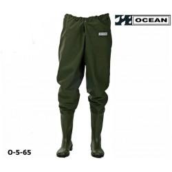 Hüftwathose Original OCEAN zum fischen, angeln und waten komfortabel und preiswert!