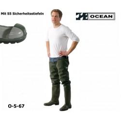 Seestiefel Watstiefel mit S5 Sicherheitsstiefeln Original OCEAN