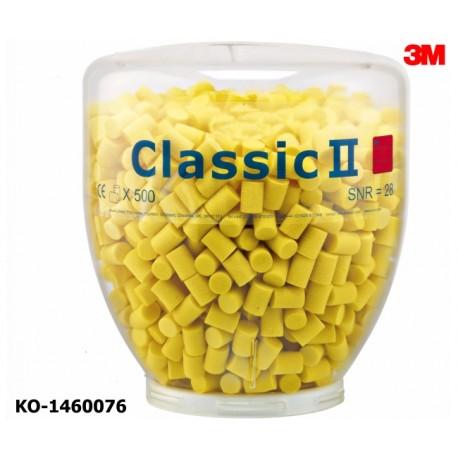 Gehörschutz, Stöpsel, Refill-Aufsatz, 3M Classic II One-Touch-Spender, 500 Paar