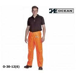 OCEAN Fischerei-Bundhose 30-12 orange Regenbekleidung PVC