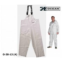 Fischerei - Latzhose, Ocean 30-13 Off Shore & Fishing, weiß, Landwirtschaft & Fischerei