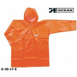 OCEAN Offshore, 30-17- Fischerei-Regenbekleidung, Ölhemd - Smock, orange, Landwirtschaft & Fischerei