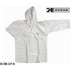OCEAN Offshore 30-17- weißes Ölhemd Fischerei-Regenbekleidung