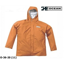 Regenjacke OCEAN 36-20 COMFORT HEAVY orange, PU / Nylon