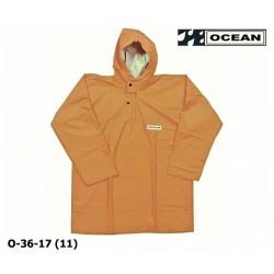 Regen-Fischerbluse, Smock, Regenbekleidung OCEAN 36-17 COMFORT Heavy, orange