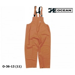 Regenlatzhose OCEAN 36-13 COMFORT HEAVY orange