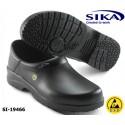 SIKA ESD Clogs O2 Fusion 19466 geschlossene Berufsclogs ohne Kappe schwarz oder weiß