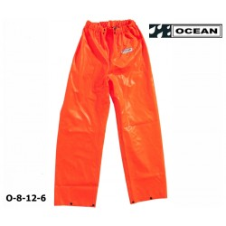 Fischer Regenhose Ocean 8-12 CLASSIC OFF SHORE & FISHING orange