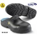 Sika Clog 8110, ESD Modell Flex Light SB SRA Clog - offener Sicherheitsclog mit Alukappe