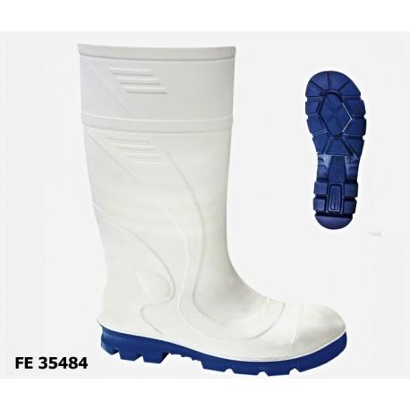 S4 PU-Stiefel VITAN weiß, leicht, besonders rutschhemmend EN ISO 20345 S4 CI SRC