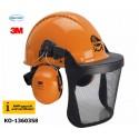 Forsthelmkombination PELTOR® orange, KWF-geprüft und zertifiziert!
