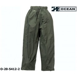 Regenhose leicht PU Comfort Stretch Ocean Bundhose 20-5412 olivgrün