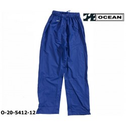 Regenhose leicht PU Comfort Stretch Ocean Bundhose 20-5412 königsblau