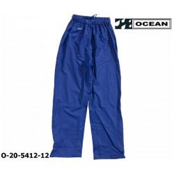 Regenhose leicht - PU Comfort Stretch - Ocean Bundhose 20-5412 königsblau aus 210gr PU