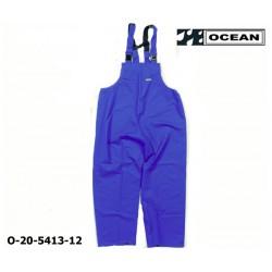 Regenlatzhose leicht - PU Comfort Stretch - Ocean Latzhose 20-5413 Königsblau aus 210gr PU