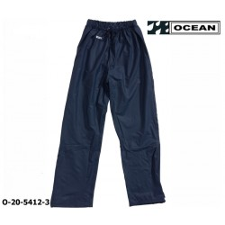 Regenhose leicht - PU Comfort Stretch - Ocean Bundhose 20-5412 marine aus 210gr PU