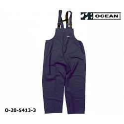 Regenlatzhose leicht - PU Comfort Stretch - Ocean Latzhose 20-5413 marine aus 210gr PU