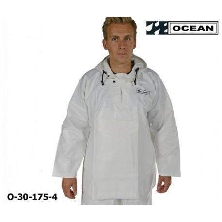 Ölhemd weiß, Jagdbluse OCEAN Offshore, 30-175- Jagd & Fischerei Regenbekleidung