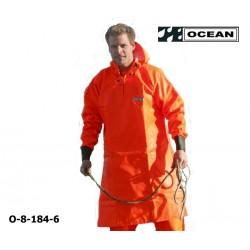 Langes Ölhemd 540 gr. PVC Fischerei OCEAN CLASSIC, OFF SHORE & FISHING, OCEAN 8-184-6