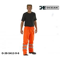 Warnschutz Regenhose leicht - PU Comfort Stretch Ocean Bundhose 20-5412-9 orange