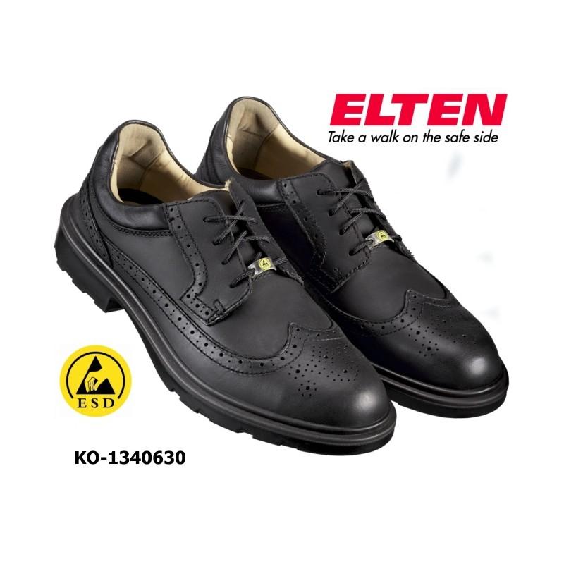 new concept bb43a 8429b ELTEN OFFICER ESD S2 Business Sicherheitsschuhe zertifiziert BGR 191
