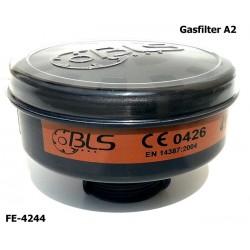 Gasfilter A2 Atemschutzfilter EN 14387, Rundgewinde EN 148-1