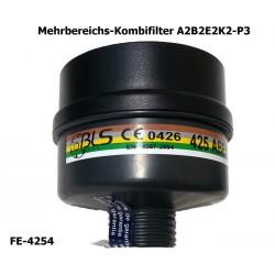 Atemschutz, Mehrbereichs-Kombi-Atemschutzfilter A2 B2 E2 K2-P3, EN 14387