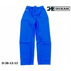 Regenhose OCEAN 36-12 COMFORT HEAVY, blau, PU/Nylon Landwirt, Angler, Jäger