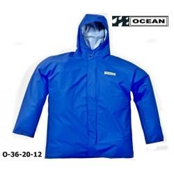 Regenjacke blau, OCEAN 36-20 COMFORT HEAVY , PU / Nylon Landwirtschaft, Angler, Jäger