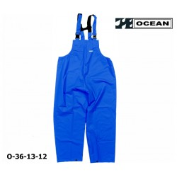 Regenlatzhose blau OCEAN 36-13 COMFORT HEAVY, PU/Nylon Landwirt, Angler, Jäger det