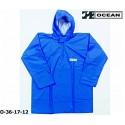 Regen-Fischerbluse blau Smock, Regenbekleidung OCEAN 36-17 COMFORT HEAVY