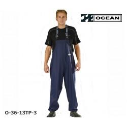 Reinigungslatzhose Chemieresistent Ocean 36-13TP Comfort Cleaning Chemical EN14605