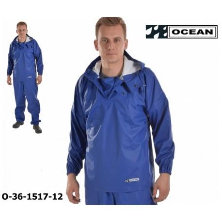 Reinigungs-Schlupfjacke blau Chemieresistent Ocean 36-1517 Comfort Cleaning EN14605