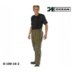 Storm Hose - Outdoorhose OCEAN für Angler und Jäger - wind- und wasserdicht olivgrün