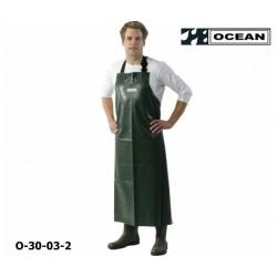Schürze Ocean Offshore olive flammhemmend und resistent gegen Öl und Fett EN 343 EN14116