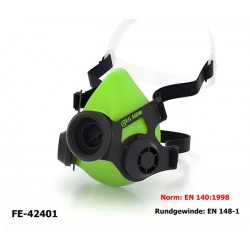 Atemschutz Halbmaske BLS Maske ohne Filter mit 2 Ausatemventilen Norm EN140