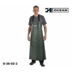 Schürze Ocean Comfort Heavy olive EN 343 PU auf Nylon-Trägergewebe mit Bauchverstärkung