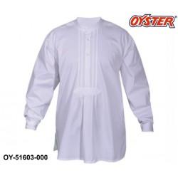 Zimmermannstaude Marke Oyster® aus 100% Baumwolle (spezialgekrumft) Farbe weiß