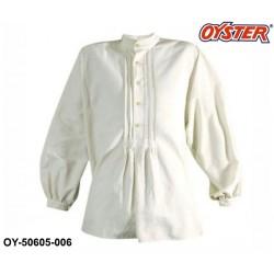 Zunftstaude Hirtenhemd Farbe natur - Marke OYSTER® Baumwolle / Leinen